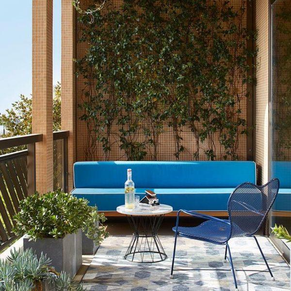 A varanda de 100 m²