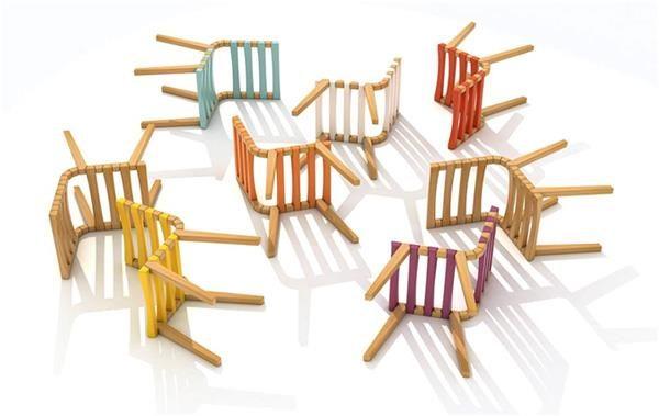 Cadeira Trapeziu, móvel premiado de Bittencourt