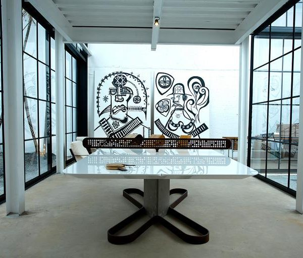 """Mesa """"Ping Pong"""", moderna e divertida"""