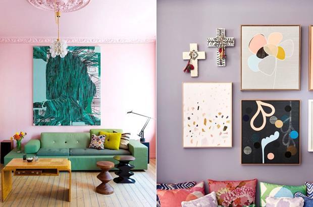 O uso de tons comuns entre parede/obra/mobiliário é uma saída interessante.