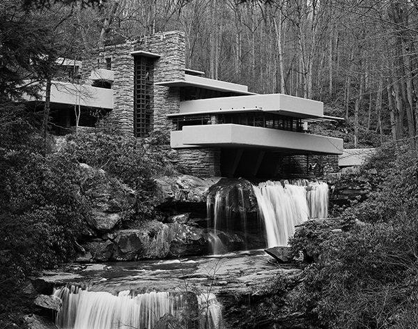 Casa da Cascata, de Frank Lloyd Wright