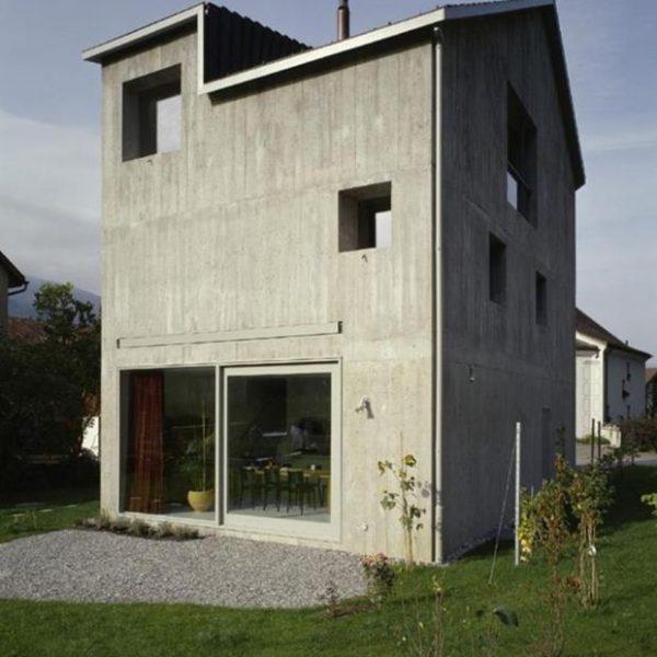 A Meuli House, inspirada nos celeiros., direto do passado para 2015.