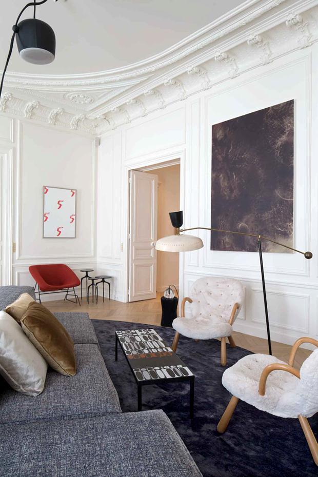 Cl ssico apartamento em paris hardecor for E mobilia paris