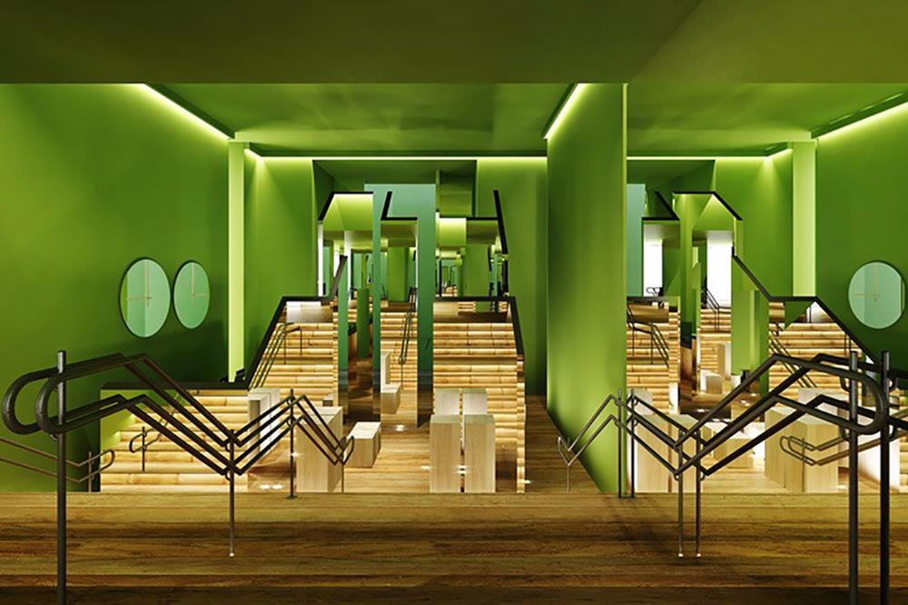 Hall de entrada espelhado, por José Marton