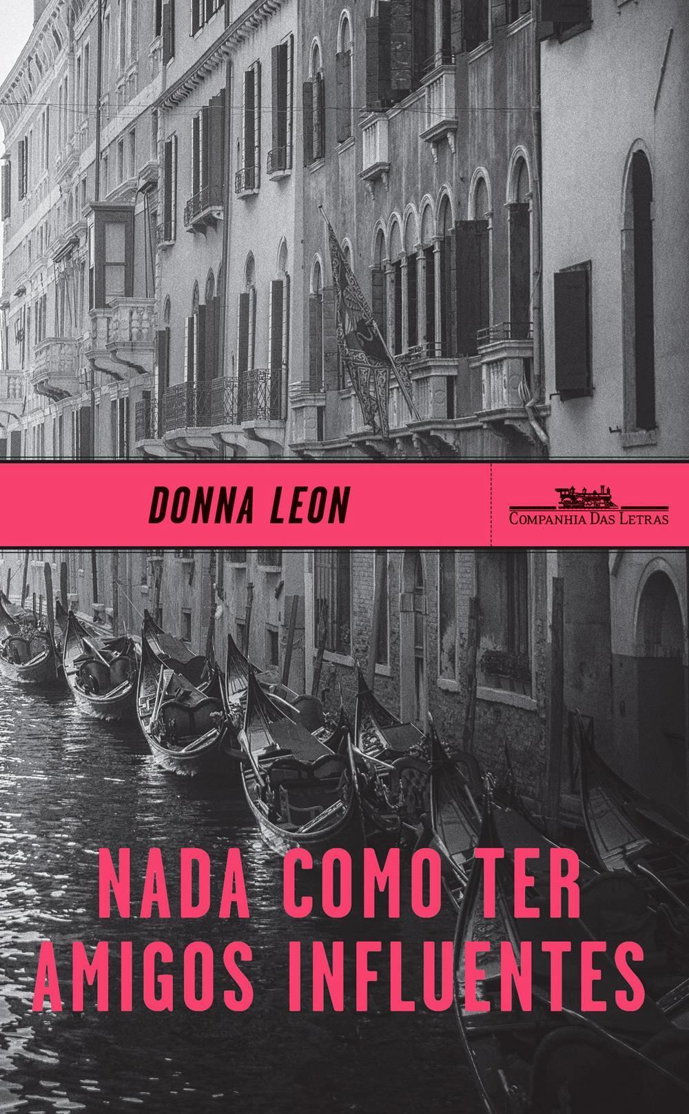 Capa do ótimo livro de Donna Leon, que vice e trabalha em Veneza