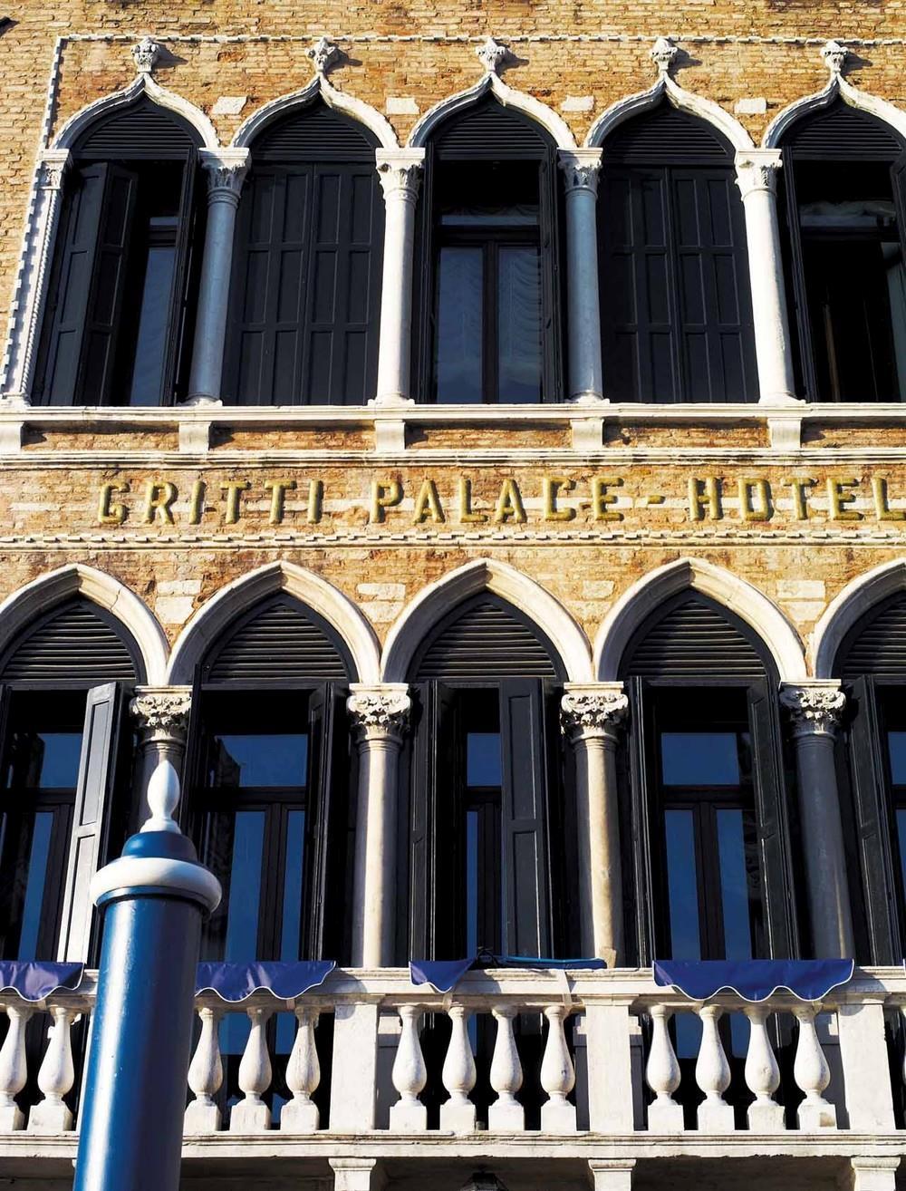 Fachada do Gritti Palace em Veneza