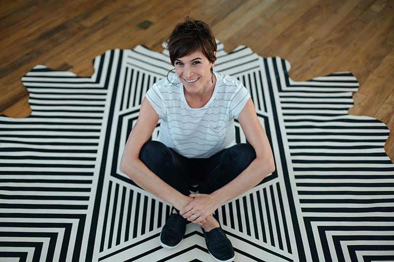 A bela Maraí com seu belo tapete