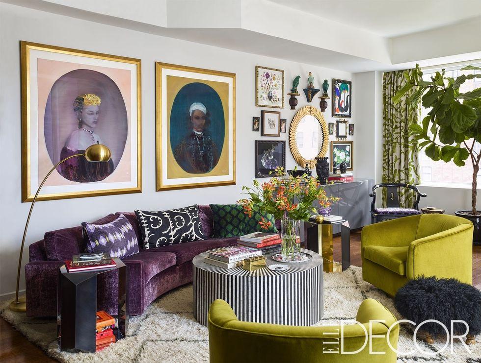 Em Manhattan, o apartamento colorido de Christina Juarez