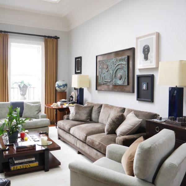 o apartamento de Braian Sawyer, em Nova York