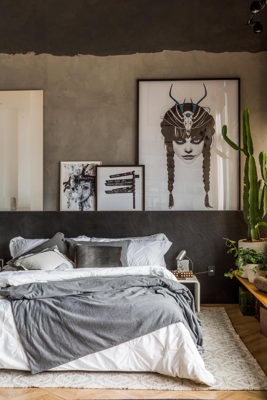Na Casa Cor Rio 2017, Barbara Schwartz, Caroline Taveira e Mariana Barbosa investem em cores neutras, inclusive na roupa de cama em ambiente contemporâneo