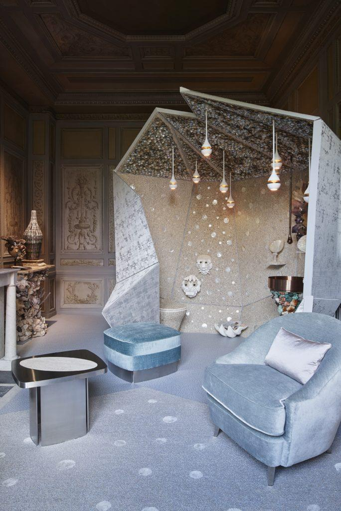 """Thomas Boog, e seu """" Le Cabinet en Rocaille"""
