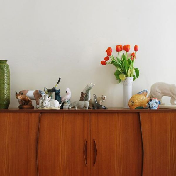 Os objetos queridos no quarto!