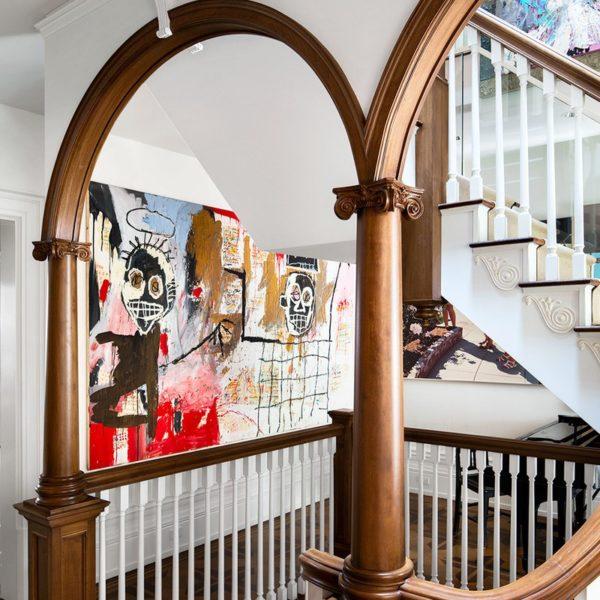 Uma das duas obras de Jean-Michel Basquiat pertencentes à família Neumann