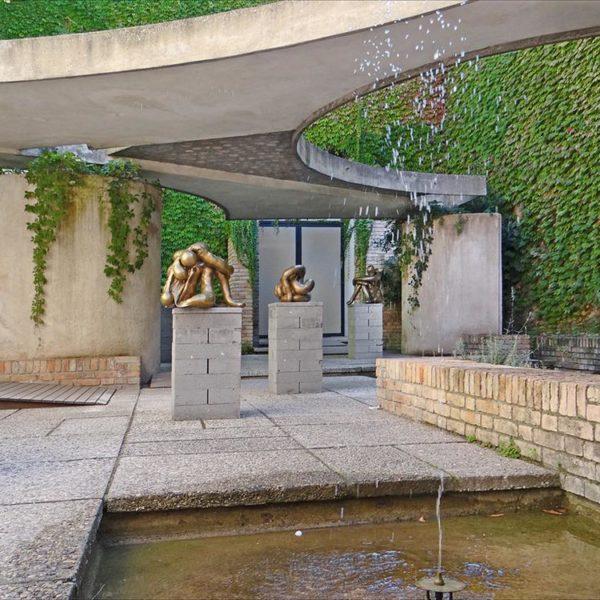 Pátio do pavilhão italiano, Bienal, Veneza 1951-1952