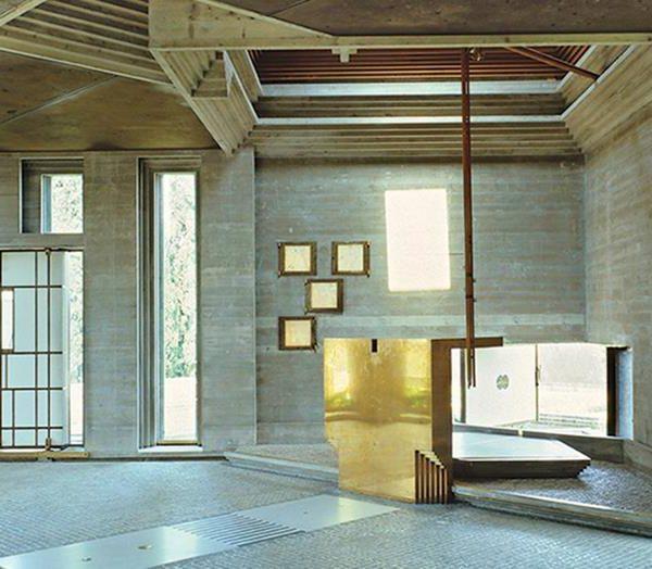 Brion Cemitery, pelo arquiteto Carlo Scarpa