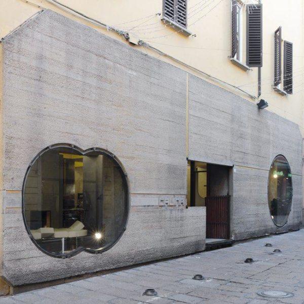 Showroom de Gino Gavina em Bologna, por Carlo Scarpa