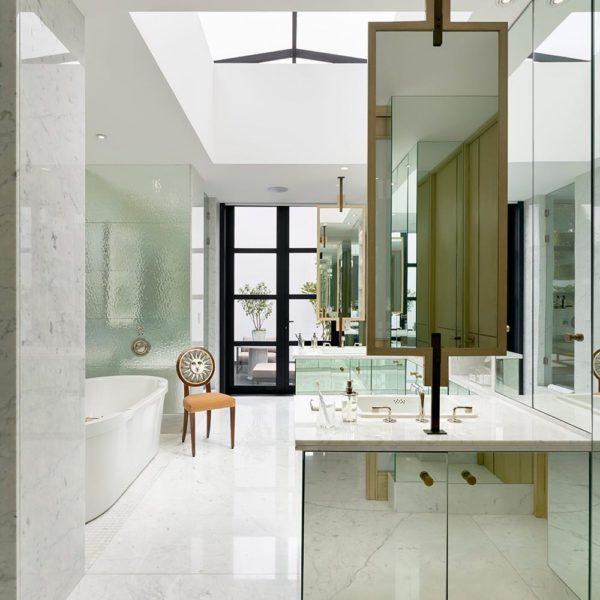O mármore é um dos materiais base na decoração
