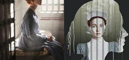 Cena da série e capa do ótimo livro escrito por Margaret Atwood