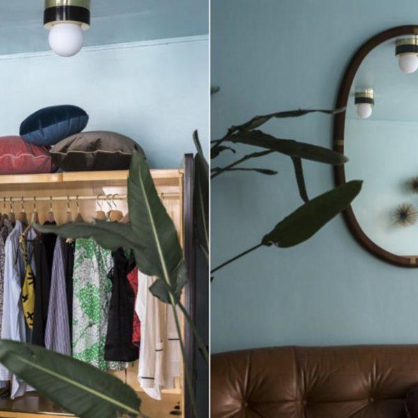 Lembre-se de usar objetos e mobiliário de formatos diferentes. Movimenta a decoração
