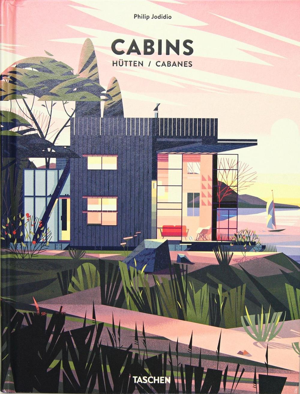 Capa do livro Cabins, ou Cabanes, de Philip Jodidio