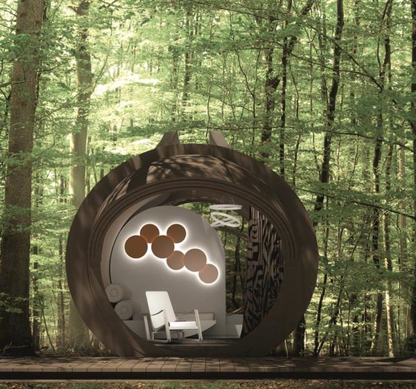 O hotel ecológico DROP