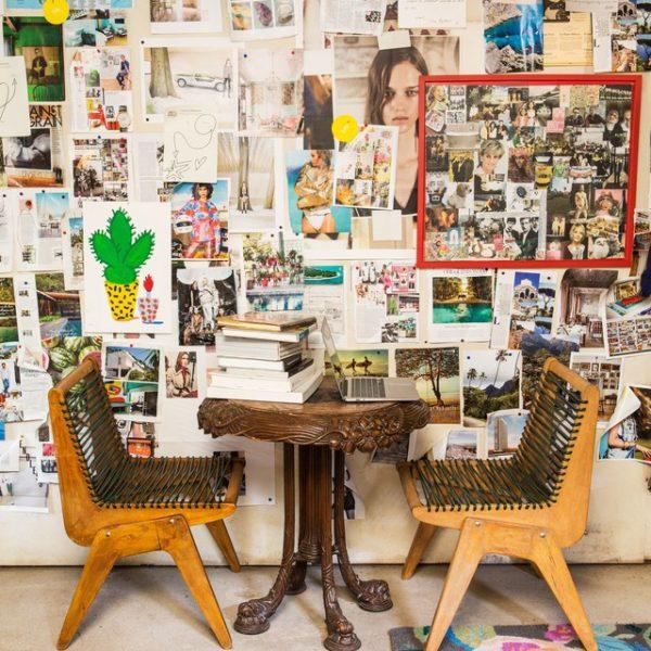 Mobiliário vintage é sempre boa pedida