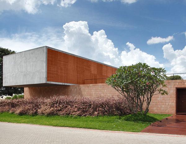 Projeto de Guilherme Torres, o tijolo usado de forma super atual