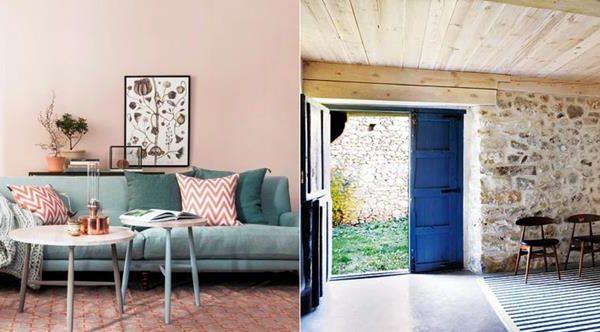 Rosa + verde = ótima combinação. Outra opção é pintar as portas na cor escolhida. Fica super bacana
