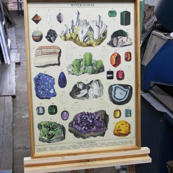 "Gravura ""Mineralogie"""