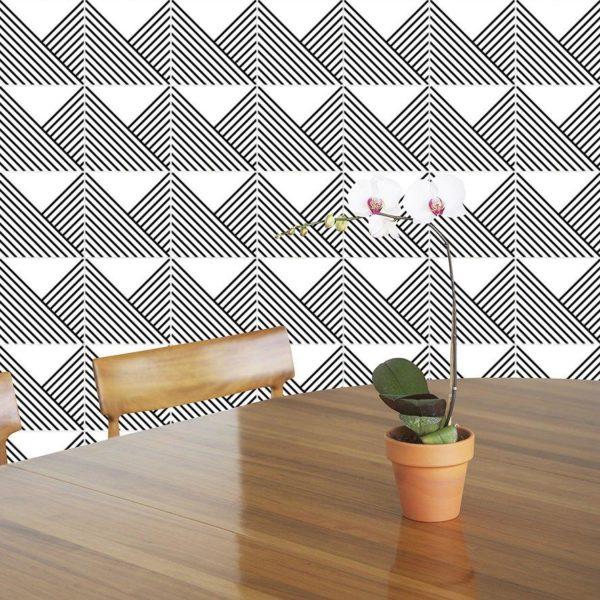 Os azulejos revestem ambientes como salas de almoço e jantar