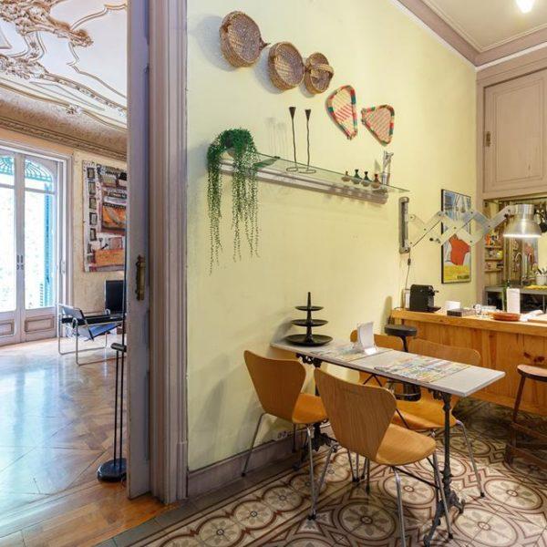 Uma pequena cozinha