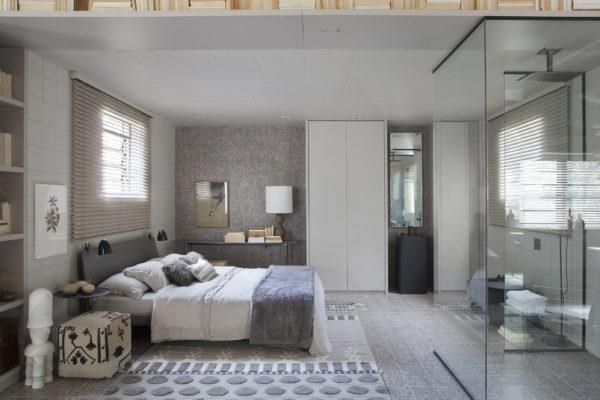 O design escandinavo fornece elementos para compor a atmosfera deste loft, Anexo Nuage, de 68 m²