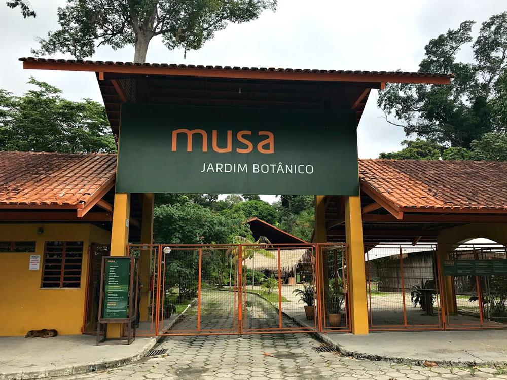 Entrada do MUSA, em Manaus