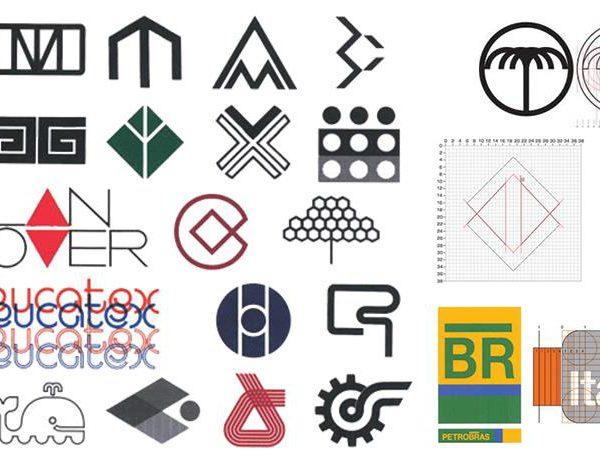 Vários dos logos assinados por Wollner