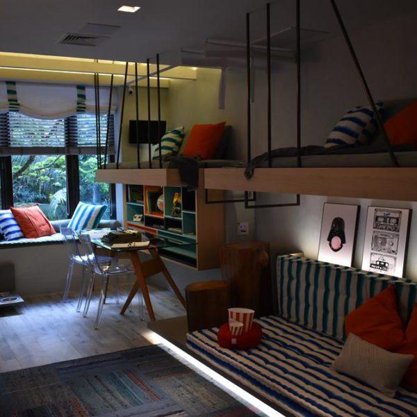 O quarto das crianças, super funcional e bacana