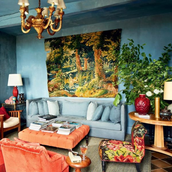 Decoração de Luis Laplace. Texturas, plantas, cores e muito bom gosto!