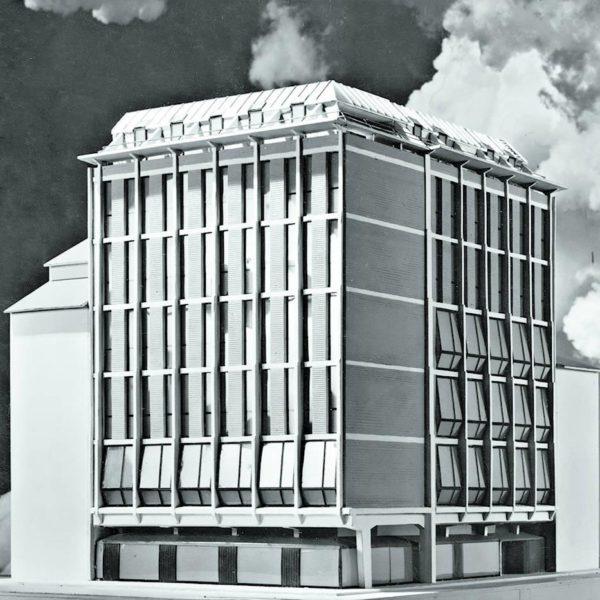 Uffici INA, em Parma, por Franco Albini