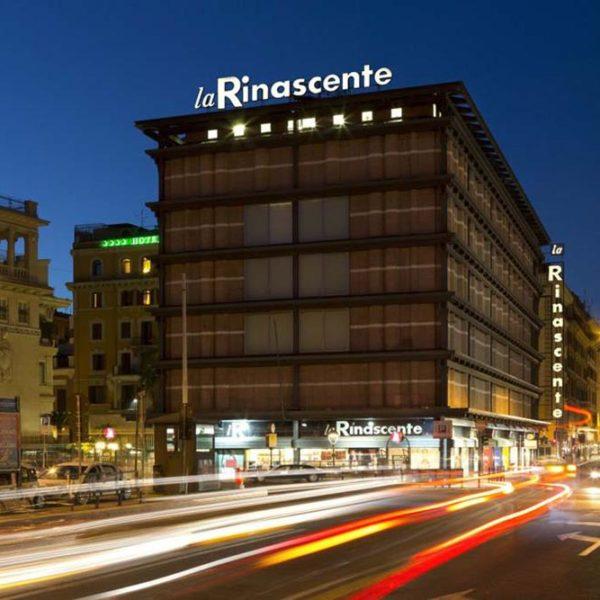 Rinascente, que leva a assinatura do designer e arquiteto italiano Franco Albini