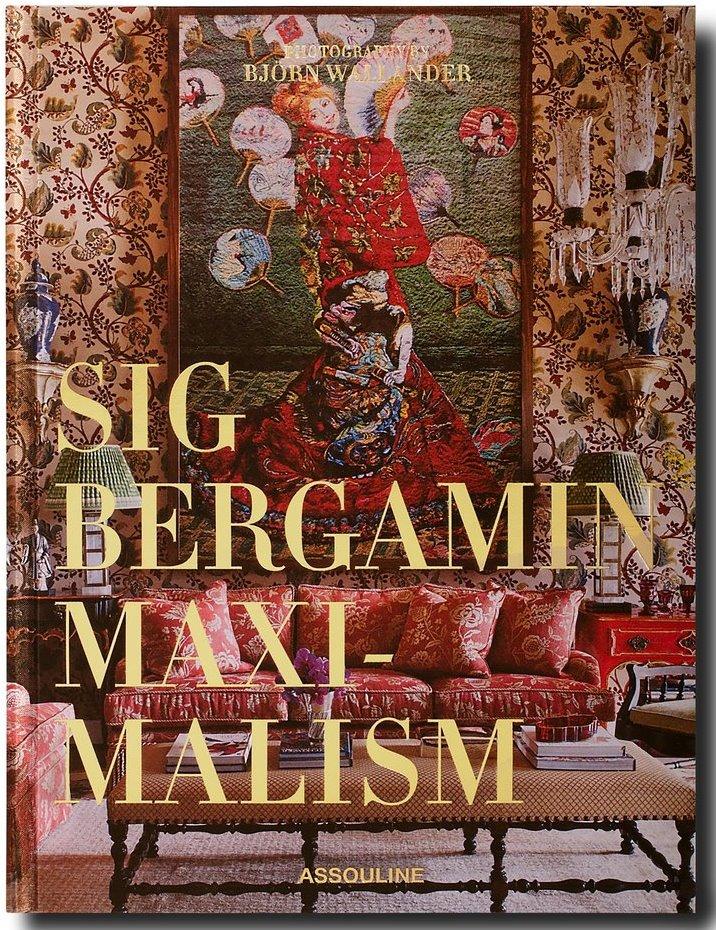 Capa do livro Maximalism, primeira publicação internacional do expert Sig Bergamin