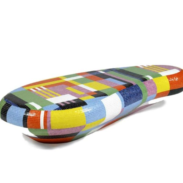 Coffee Table Seating Bench, por Alessandro Mendini para BISAZZA