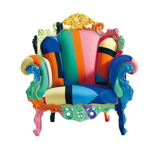 'Proust Geometrica' armchair, assinada por Alessandro Mendini