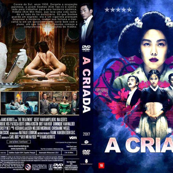 """Cartaz do filme """"A Criada"""", ou """"The Handmaiden"""", em inglês"""