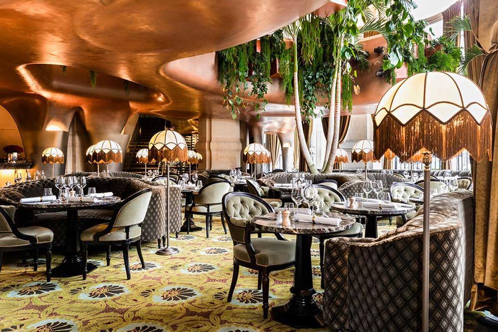 Restaurante Coco, na Opera Garnier, em Paris