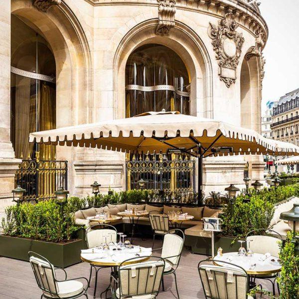 O terraço, que promete ser o melhor ponto de Paris neste verão