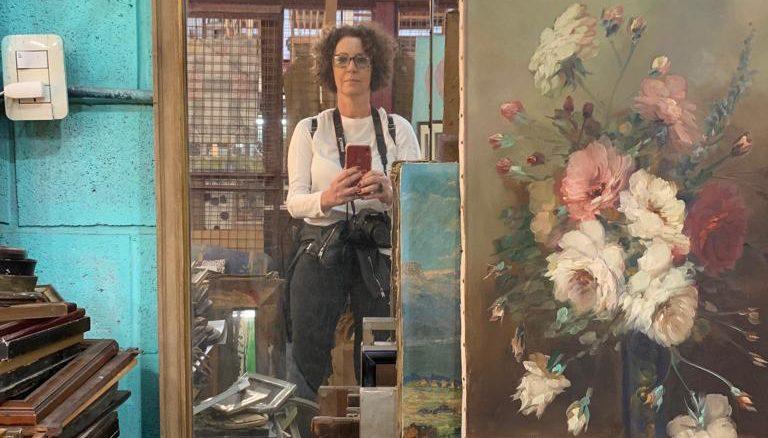 Selfie no Mercado de Pulgas, certamente um dos meus passeios preferidos, sempre e em todos os lugares