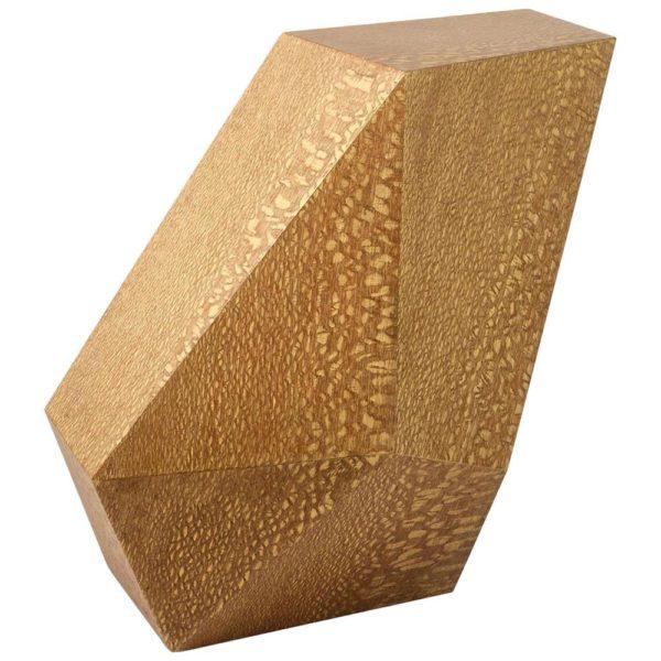 """De Achille Salvagni, """"Emerald"""" Lacewood Side Table, de 2015, por $16,500"""