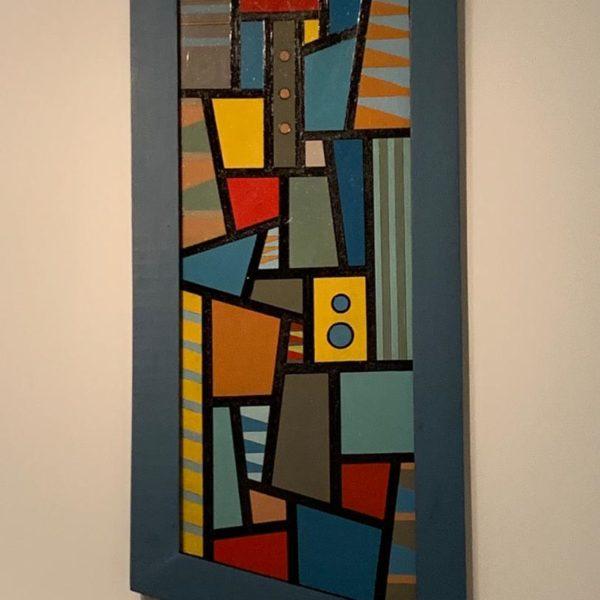 Da coleção permanente do MALBA, obra de Carmelo Arden Quin, de 1946