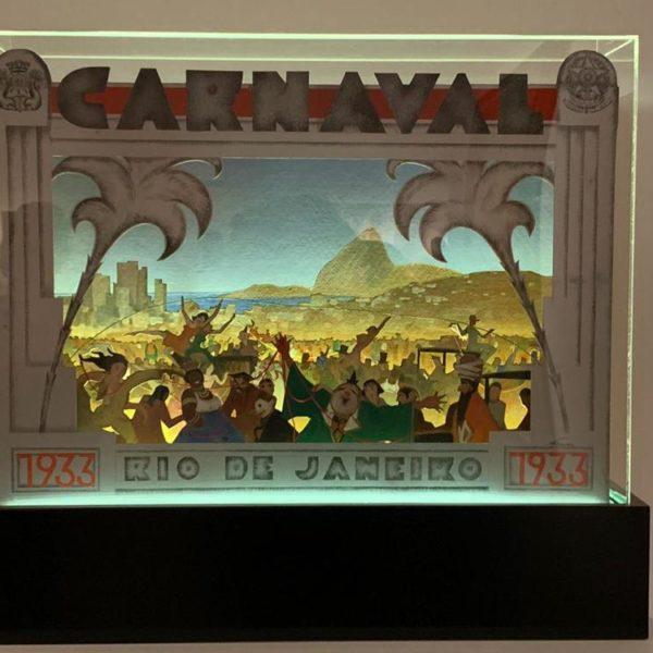 De 1933, Carnaval, obra de Hans Nobauer, que nasceu em Viena, mas morou e morreu no Rio de Janeiro