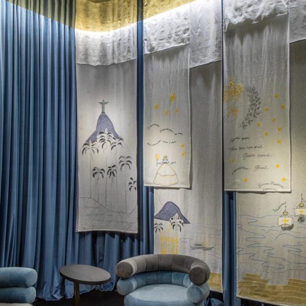 Outro ângulo da recepção por Cité Arquitetura