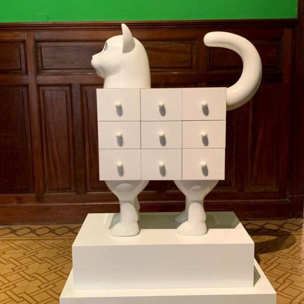Gato Secretaire, de Edgardo Gimenez